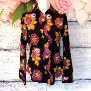 The Limited Floral Button Down Shirt Size Large